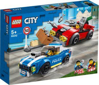 LEGO 60242 Arresto su Strada della Polizia LEGO City su ARSLUDICA.com