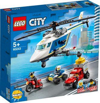 LEGO 60243 Inseguimento sull'Elicottero della Polizia LEGO City su ARSLUDICA.com