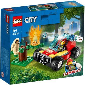 LEGO 60247 Incendio nella Foresta LEGO City su ARSLUDICA.com