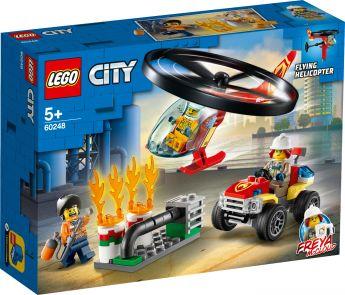 LEGO 60248 Elicottero dei Pompieri LEGO City su ARSLUDICA.com