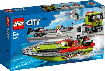LEGO 60254 Trasportatore di Motoscafi LEGO City su ARSLUDICA.com