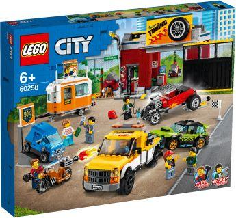 LEGO 60258 Autofficina LEGO City su ARSLUDICA.com
