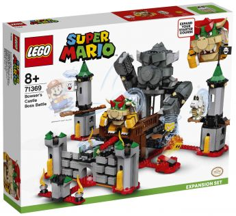 LEGO 71369 Battaglia Finale al Castello di Bowser LEGO Super Mario su ARSLUDICA.com