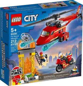 LEGO 60281 Elicottero Antincendio | LEGO City