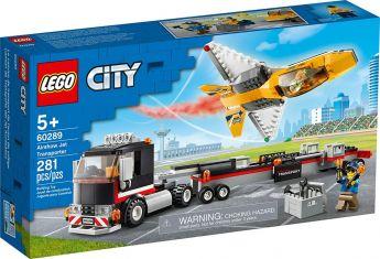 LEGO 60289 Trasportatore di Jet Acrobatico| LEGO City