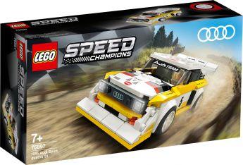 LEGO 76897 1985 Audi Sport quattro S1 LEGO Speed Champions su ARSLUDICA.com