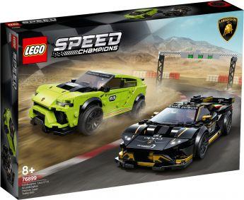 LEGO 76899 Lamborghini Urus ST-X & Lamborghini Huracán Super Trofeo EVO LEGO Speed Champions su ARSLUDICA.com