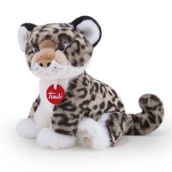 Leopardo grigio Leopoldo 19x21x24 cm (Peluche Trudi)