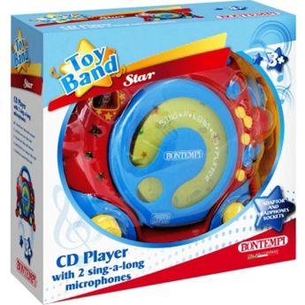 Lettore CD da tavolo con 2 microfoni (Gioco Bontempi)