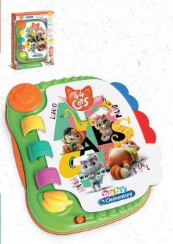 Libro Elettronico 44 Gatti Baby Clementoni su ARSLUDICA.com