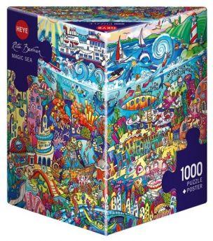 Magic Sea, Berman Triangular (Puzzle Heye 1000 pezzi)