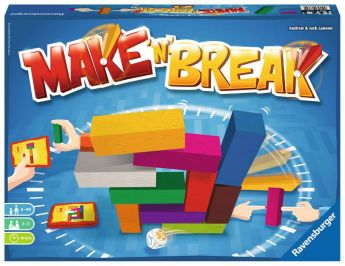 Make' n' Break Gioco da tavolo Ravensburger su ARSLUDICA.com