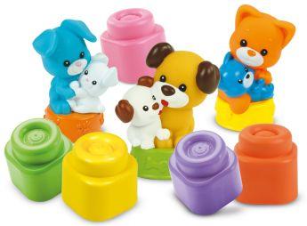 Mamma e Cuccioli di Casa Soft Clemmy Clementoni su ARSLUDICA.com