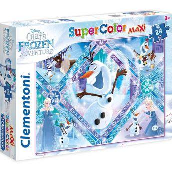 Olaf's frozen Adventure (Puzzle Bambini 24 pezzi Clementoni)