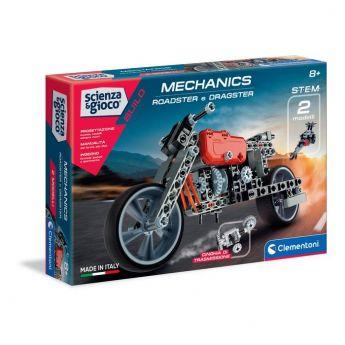 Mechanics Roadster + Dragster Scienza e Gioco Clementoni