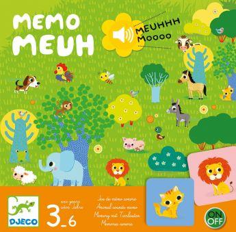 Memo Meuh Gioco da Tavolo Djeco su ARSLUDICA.com