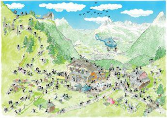 Mountain Bike (Puzzle 1080 Pezzi Le Formiche di Fabio Vettori)