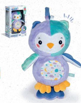 Night Owl Light Up Plush (Prima Infanzia Baby Clementoni) su ARSLUDICA.com
