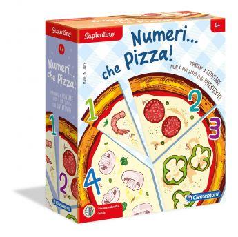 Numeri... che Pizza! Sapientino Clementoni su ARSLUDICA.com