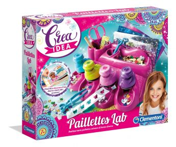 Pailettes Lab Crea Idea Clementoni su ARSLUDICA.com