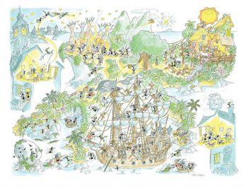 Peter Pan (Puzzle 1080 Pezzi Formiche) (Puzzle)