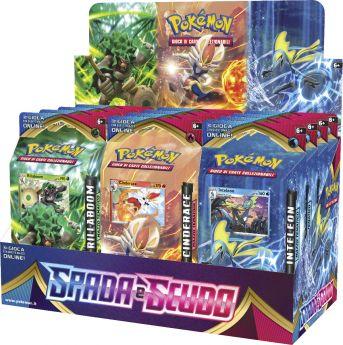 Pokémon Spada e Scudo Mazzo Tematico Rillaboom / Cinderace / Inteleon su ARSLUDICA.com