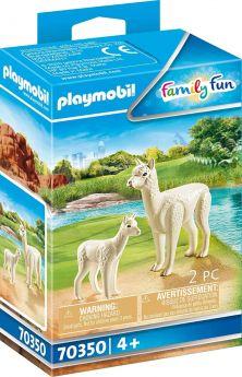 Playmobil 70350 Alpaca con Cucciolo (Playmobil Zoo)