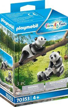 Playmobil 70353 Famiglia di Panda (Playmobil Zoo)