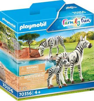 Playmobil 70356 Famiglia di Zebre (Playmobil Zoo)
