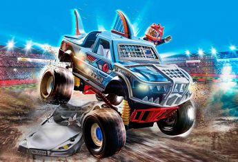 Gioco Show Monster Truck Squalo 70550 | Playmobil City Action - Gioco