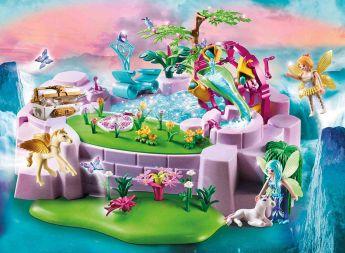 Gioco Lago Incantato Delle Fate | Playmobil Fantasy - Gioco