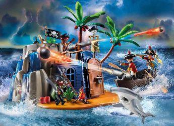 Gioco Covo Del Tesoro Dei Pirati | Playmobil - Avventura
