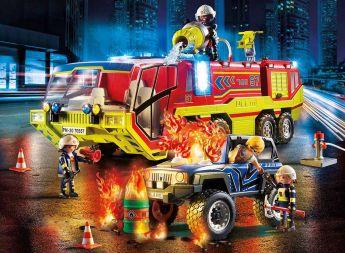 Gioco Camion dei Vigili del Fuoco | Playmobil  - Avventura