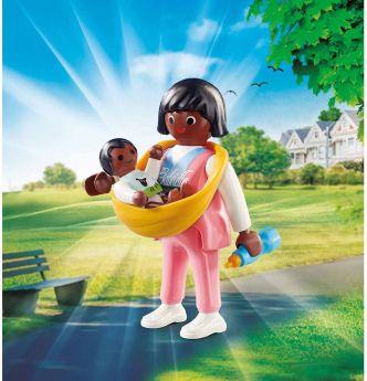 Gioco Mamma con Neonato | Playmobil Figures