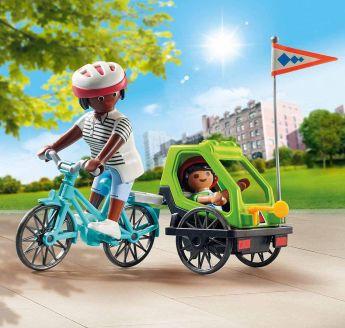 Playmobil 70601 Mamma con Bicicletta | Playmobil Special Plus