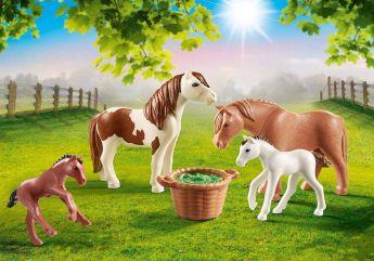 Famiglia di Pony | Playmobil Cavalli