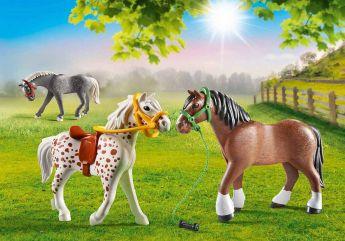 3 Pony | Playmobil Cavalli