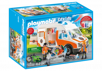 Playmobil 70049 Ambulanza (Playmobil City Life)