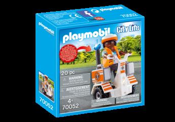Playmobil 70052 Balance Scooter Emergenze (Playmobil City Life)