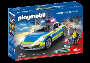 Playmobil 70066 Porsche 911 Carrera 4S Police (Playmobil City Action)