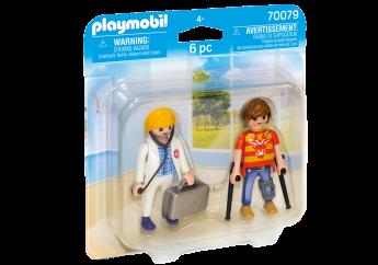 Playmobil 70079 Dottore e Paziente (Playmobil Figures)