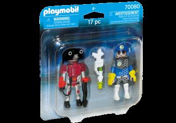 Playmobil 70080 Agente Spaziale e Bandito (Playmobil Figures)
