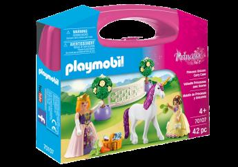 Playmobil 70107 Valigetta Grande Principessa con Unicorno (Playmobil Princess)