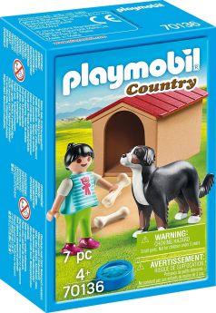 Playmobil 70136 Cane con Cuccia (Playmobil Country)