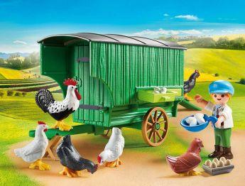 Pollaio Playmobil Country 70138 su ARSLUDICA.com