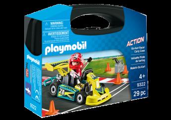 Playmobil 9322 Valigetta Go Kart (Playmobil Action)