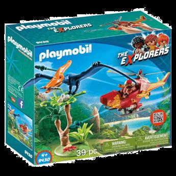 Playmobil 9430 Elicottero E Pterodattilo (Playmobil Dinosauri)