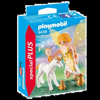 Playmobil 9438 Fata Del Sole Con Unicorno (Playmobil Special Plus)