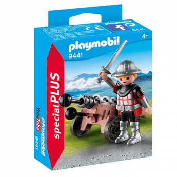 Playmobil 9441 Cavaliere Con Cannone (Playmobil Special Plus)