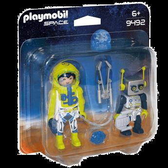 Playmobil 9492 Astronauta E Robot (Playmobil Space)